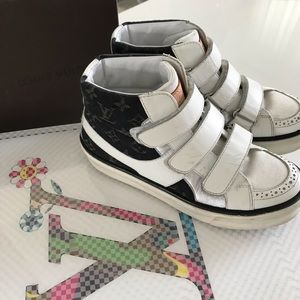 2a8c6a66cee3 Louis Vuitton Shoes - LV boys sneakers
